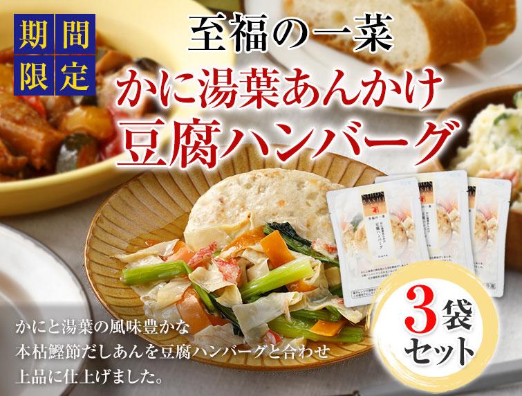 豆腐ハンバーグ3個セット