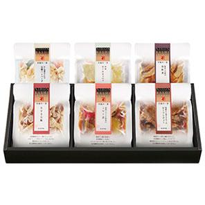 至福の一菜 煮魚・焼魚詰合せ (6袋入り) 【送料込み】