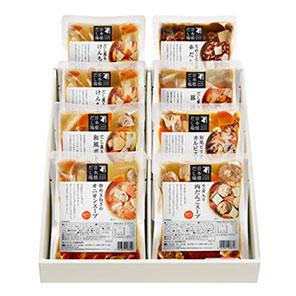 【日本橋だし場】 だしスープ詰合 8袋入り (送料込み)